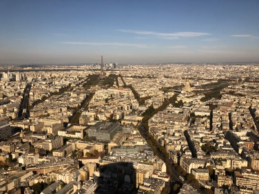 View from La tour Montparnasse