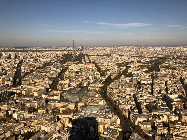 View from La tour Montparnasse