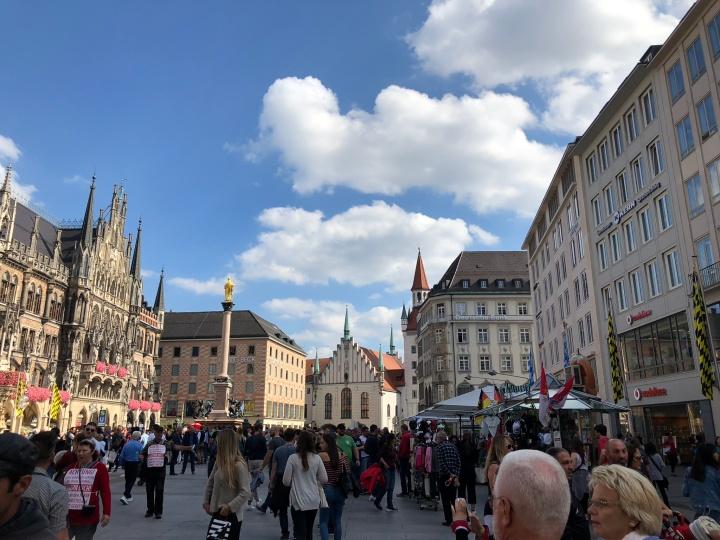 Two Days in Germany: Frankfurt andMunich
