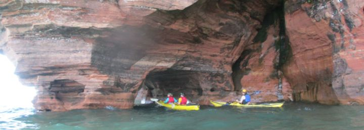 Kayaking Adventure in Apostle Islands // Wisconsin