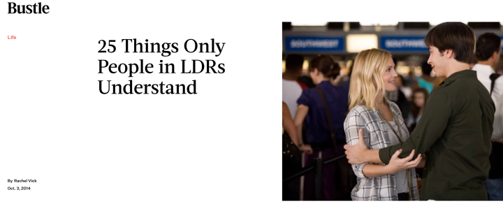 25 Things Only People in LDRsUnderstand